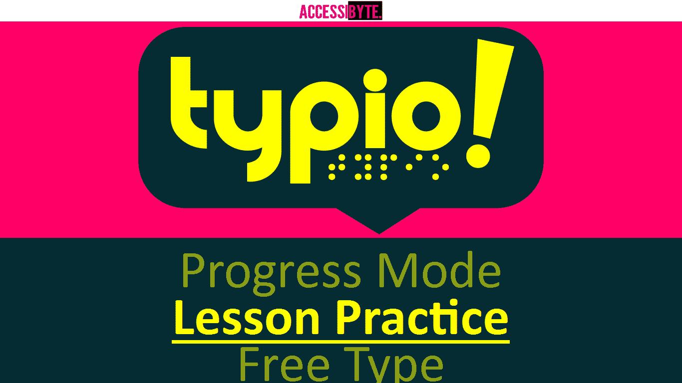 Typio title screen