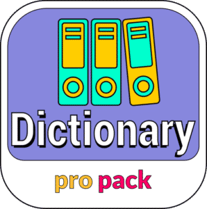 ProPack dictionary icon