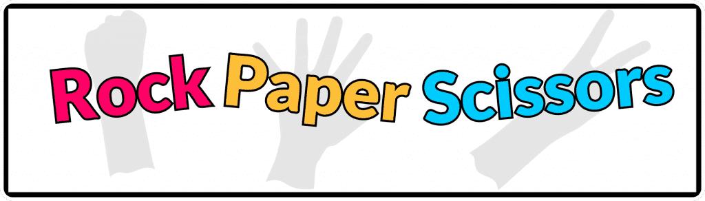 Rock PAper Scissors Logo