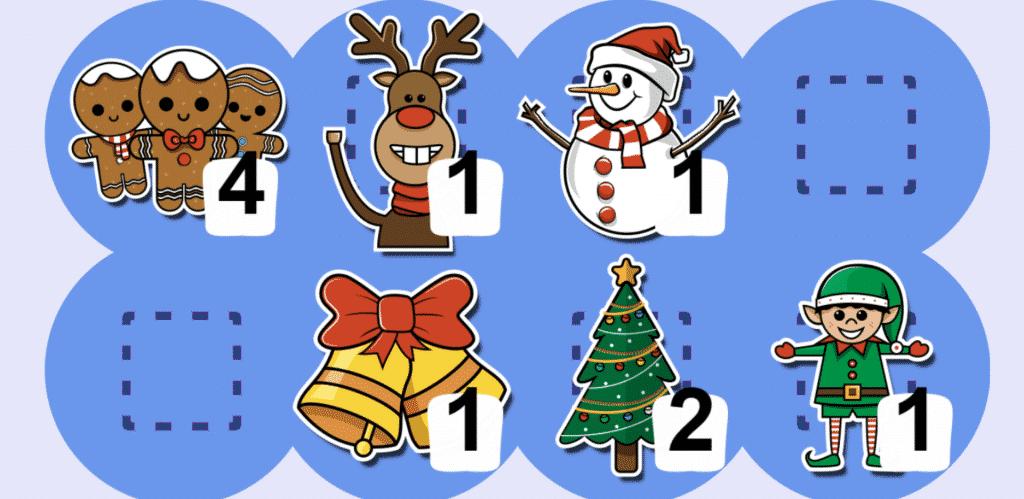 Typio Christmas sticker screenshot